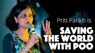 ISULabaNtu Co-Investigator Priti Parikh at 'Engineering Showoff' performing standup comedy!