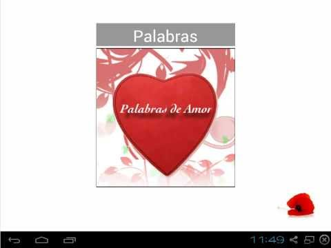 Video of Palabras de Amor