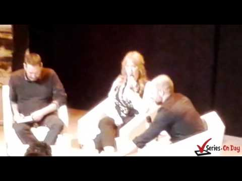 Video Christina Hendricks presenta en Madrid