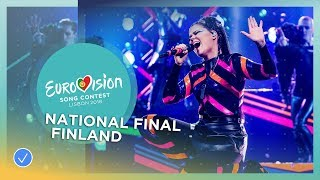 Video Saara Aalto - Monsters - Finland - National Final Performance - Eurovision 2018 MP3, 3GP, MP4, WEBM, AVI, FLV Maret 2018