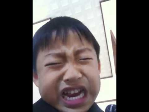 FUNNY little Japanese boy (видео)
