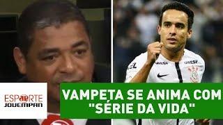 Vampeta destacou a boa sequência que o Corinthians tem pela frente no Campeonato Brasileiro. Time alvinegro vai enfrentar...