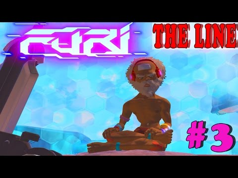FURI Gameplay Boss #3: THE LINE | Walkthrough PC Full HD No Commentary
