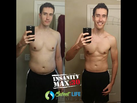 INSANITY Max 30 Results – Before and After 60 Days
