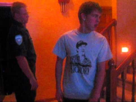 greatest freak out ever 15 - Stephen gets a visit from the Police when he breaks my moms T.V. http://itunes.apple.com/app/wafflepwn-the-greatest-freak/id367293715?mt=8 http://www.youtube...