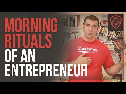 Morning Rituals of an Entrepreneur