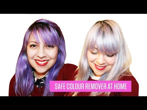 HOW TO REMOVE SEMI PERMANENT HAIR DYE - no bleach
