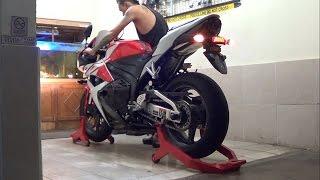 10. Honda CBR 600RR 2012 Original Exhaust (istimewa)
