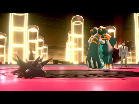 Pincurchin Power of Zing Zap battle with Chairman Rose : Pokemon Sword & Shield