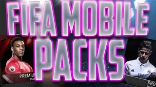 FIFA Mobile Pack Opening! NEW FIFA Soccer Game On Mobile Pro Packs and Premium Bundle!