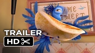 Rio 2 TRAILER - Migration Vacation (2014) - Anne Hathaway, Jesse Eisenberg Movie HD