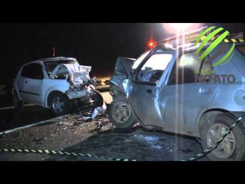 Colisão faz uma vítima fatal e deixa dois feridos em São José do Cerrito