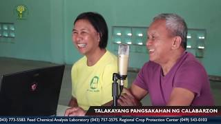 Episode 64 with SANTAMASI Irrigators' Association Chairman Efren T. Marasigan and Treasurer Angelina
