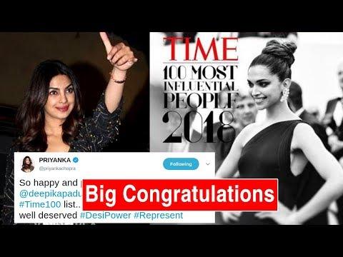 Priyanka Chopra CONGRATULATES Deepika Padukone For