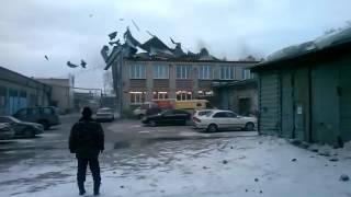 В Новосибирске ветрено