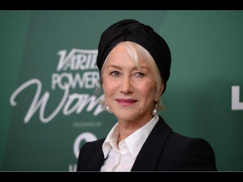Helen Mirren descobre que é um ano mais nova do que achava