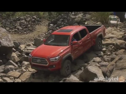 2016 Toyota Tacoma Video Review