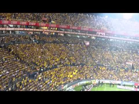Recibimiento de la hinchada de tigres, Tigres vs monterrey clasico 104 - Libres y Lokos - Tigres