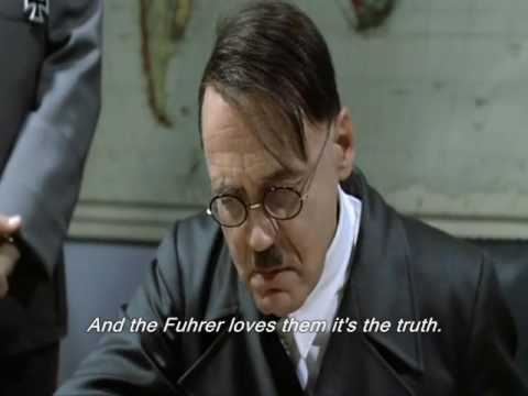 Hitler Displeased with Recruitment Video