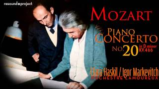 Download Lagu Mozart. Piano Concerto 20 - Haskil, Markevitch 1960 Mp3