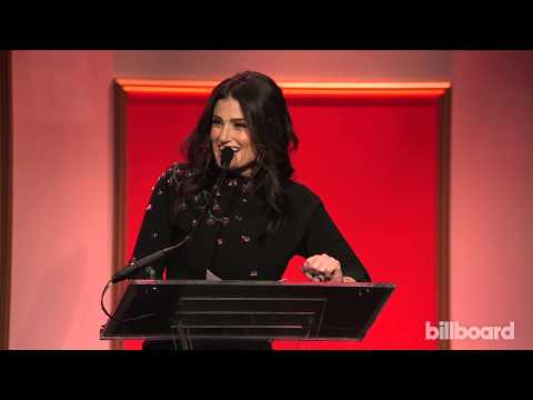 Idina Menzel Accepts Breakthrough Artist Honor – Billboard Women in Music 2014