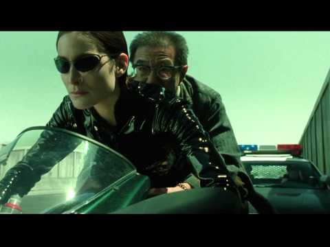 The Matrix Reloaded: Trinity on Ducati 996
