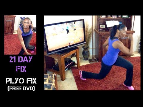 21 Day Fix Review 2- PLYO FIX (Free DVD)