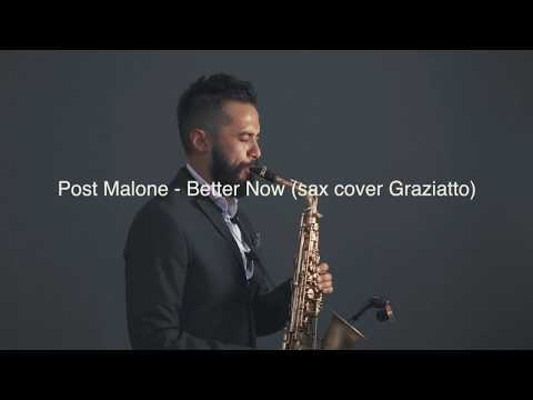 Better Now - Post Malone (sax Cover Graziatto)
