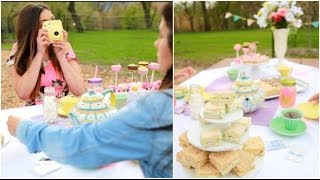 DIY Mother's Day: Tea Party, Gift Ideas + giveaway! - YouTube