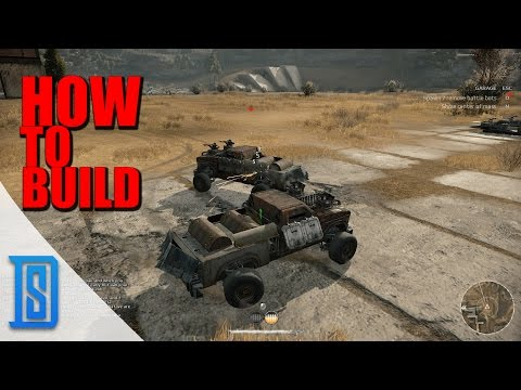 crossout how to build your first vehicle crafting quick