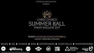 Christ Church Summer Ball 2017