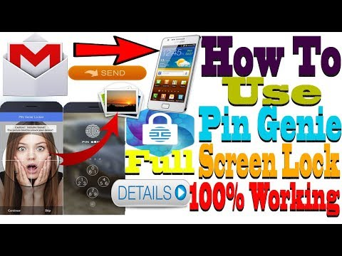 "How to use pin genie locker in hindi/urdu ""best screen lock app for android 2018"" baba good luck"