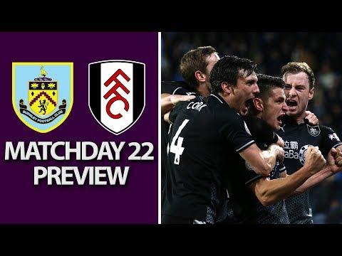 Video: Burnley v. Fulham | PREMIER LEAGUE MATCH PREVIEW | 1/12/19 | NBC Sports