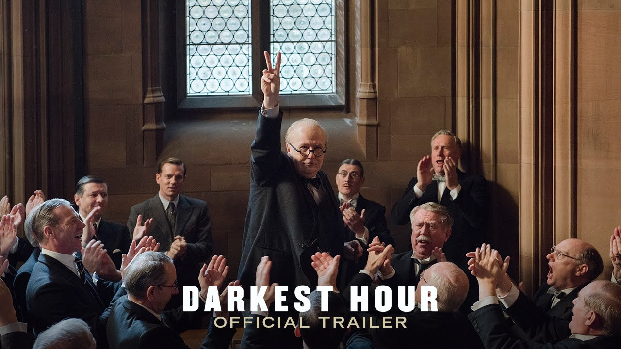 Winston Churchill Wasn't Their First Choice But He Became Their Last Hope in 'Darkest Hour' (Trailer) with Unrecognizable Gary Oldman as Churchill