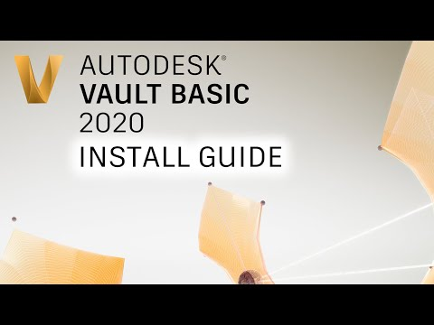 How to install & set up Autodesk Vault Basic 2020 in 20 minutes!