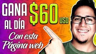 Video Cómo ganar 60 DÓLARES AL DÍA rápido (La mejor página web 2019) 🤑🤑🤑 MP3, 3GP, MP4, WEBM, AVI, FLV September 2019