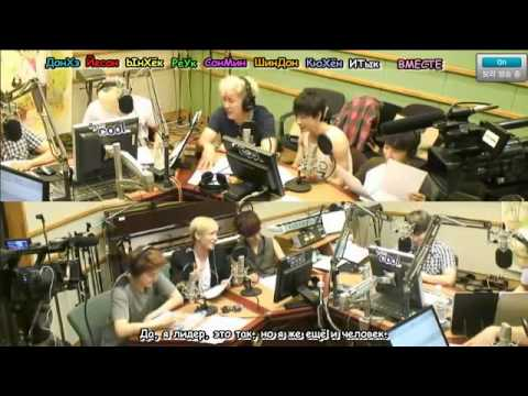 120720 Sukira - Kiss Thie Radio - KTR with Super Junior Part 4/8 [rus.sub]
