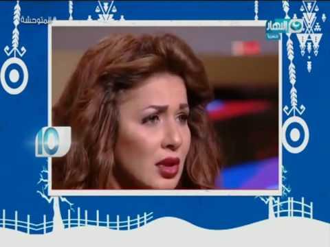 إيناس الدغيدي ترد على تصريحات مظهر شاهين بحقها