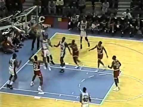 Rockets Beat Spurs 112-110 in Double OT - 1/4/1992
