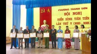 Hội nghị điển hình tiên tiến phường Thanh Sơn lần thứ V