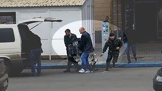 Бандити, які грабували Associated Press і стріляли по активістах. ВІДЕОДОКАЗ