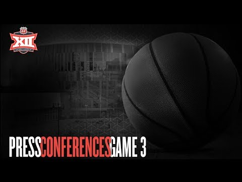 Game 3 | Iowa State vs Baylor | Press Conference