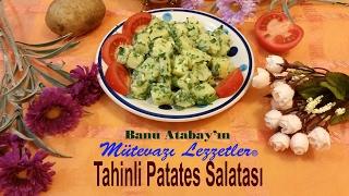 Banu Atabay'ın Mütevazı Lezzetler® Yemek Kitapları serisinden Tahinli Patates Salatası'nın görsel anlatımı. http://video.lezzetler.com Yemek Tarifleri, Turki...