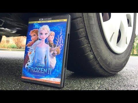 FROZEN 2 Movie HD 2019 vs CAR | Crushing Crunchy & Soft Things by Car!