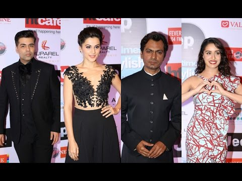 Karan Johar | Shraddha Kapoor | Nawazuddin Siddiqui | Taapsee Pannu | At HT Most Stylish Awards 2017