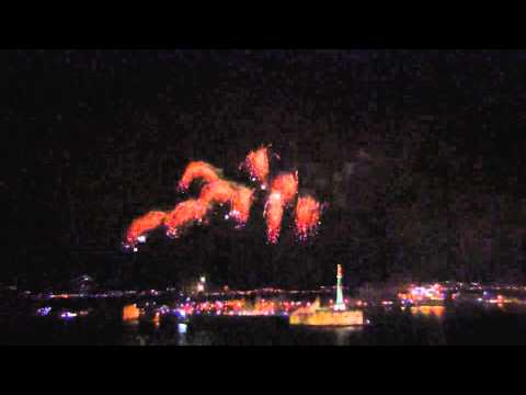 ferragosto messinese - fuochi d'artificio
