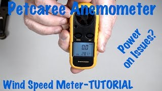 I purchased this Petcaree Anemometer Sokos Digital LCD Wind Speed / Air Flow Thermometer with Backlight, Mini Size from Amazon. The instructions are not good. There is nothing about installing the battery or which way to install the CR2032 battery. AMAZON AFFILIATE LINK TO THIS WIND METER: http://amzn.to/2rmASWBOnce I installed the battery, the unit would not power on. I had to go into the battery compartment and bend and fix the connections. There are some simple things you can do to get the unit to power on. Once you make the quick fixes then you are good to go. I show you the tricks I used to get this Petcaree Anemometer wind meter up and going. I will also show you how to operate the meter and get it all set up. I purchased this wind meter as I fly drones and need to know wind speed. OFFICIAL WEBSITE: http://www.lawabidingbiker.com