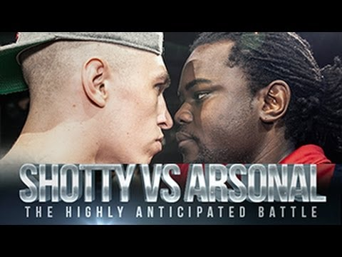 Rap! - ShottyHorroh Vs @ArsonalDaRebel Hosted by @Twitteurgh Filmed by @BodyBagnall @StickmanVisuals @London_86 @Cruger7 Edited by @Cruger7 Graphic Design by @SamG...