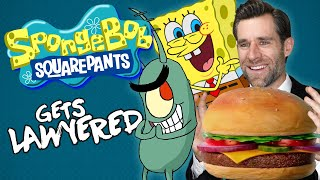 Real Lawyer Reacts to SpongeBob SquarePants (Krabs vs Plankton) ft. TierZoo