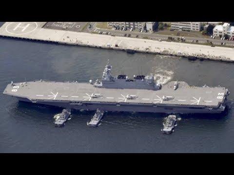 Japan will wieder Flugzeugträger in den Pazifik schicken